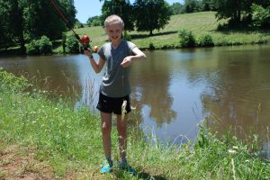 Annelise Fishing